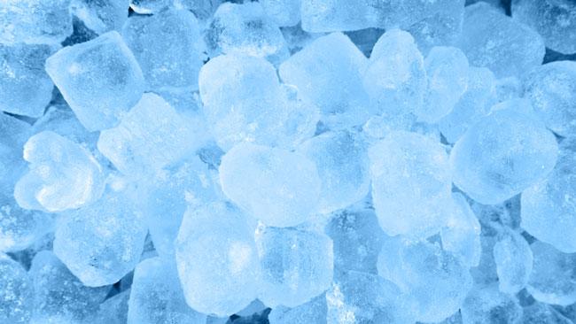 tratamento com gelo